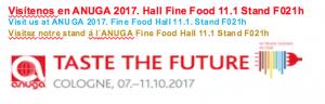 Feria Internacional ANUGA 2017
